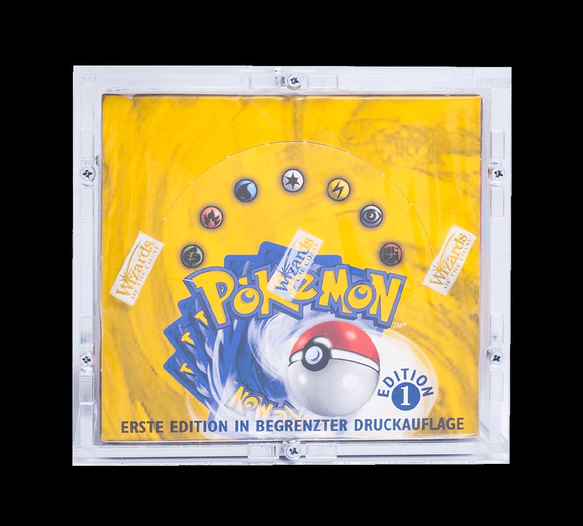 Pokémon 1st Edition Booster Box Image