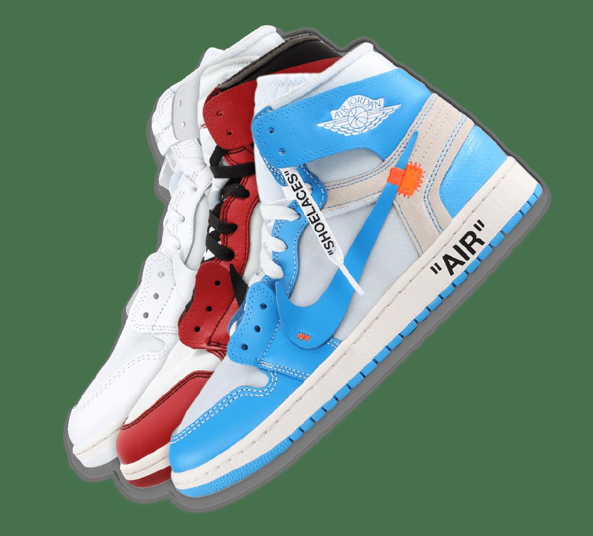 Nike x Off-White Jordan 1 Collection Image