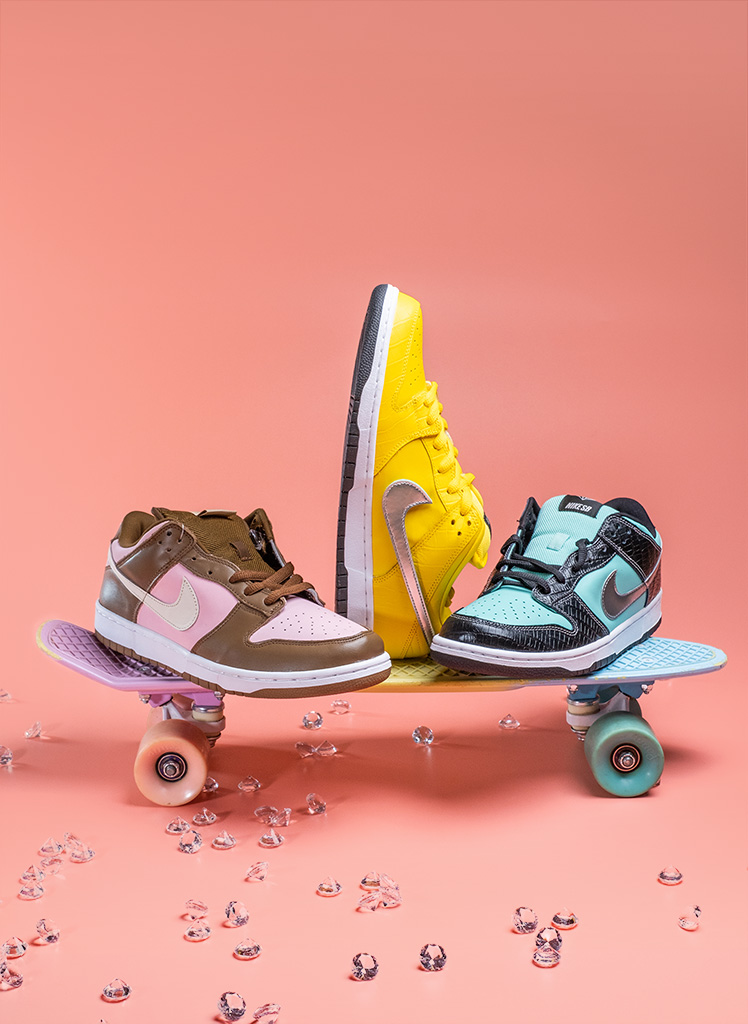 Iconic Nike SB Dunk Low Collection