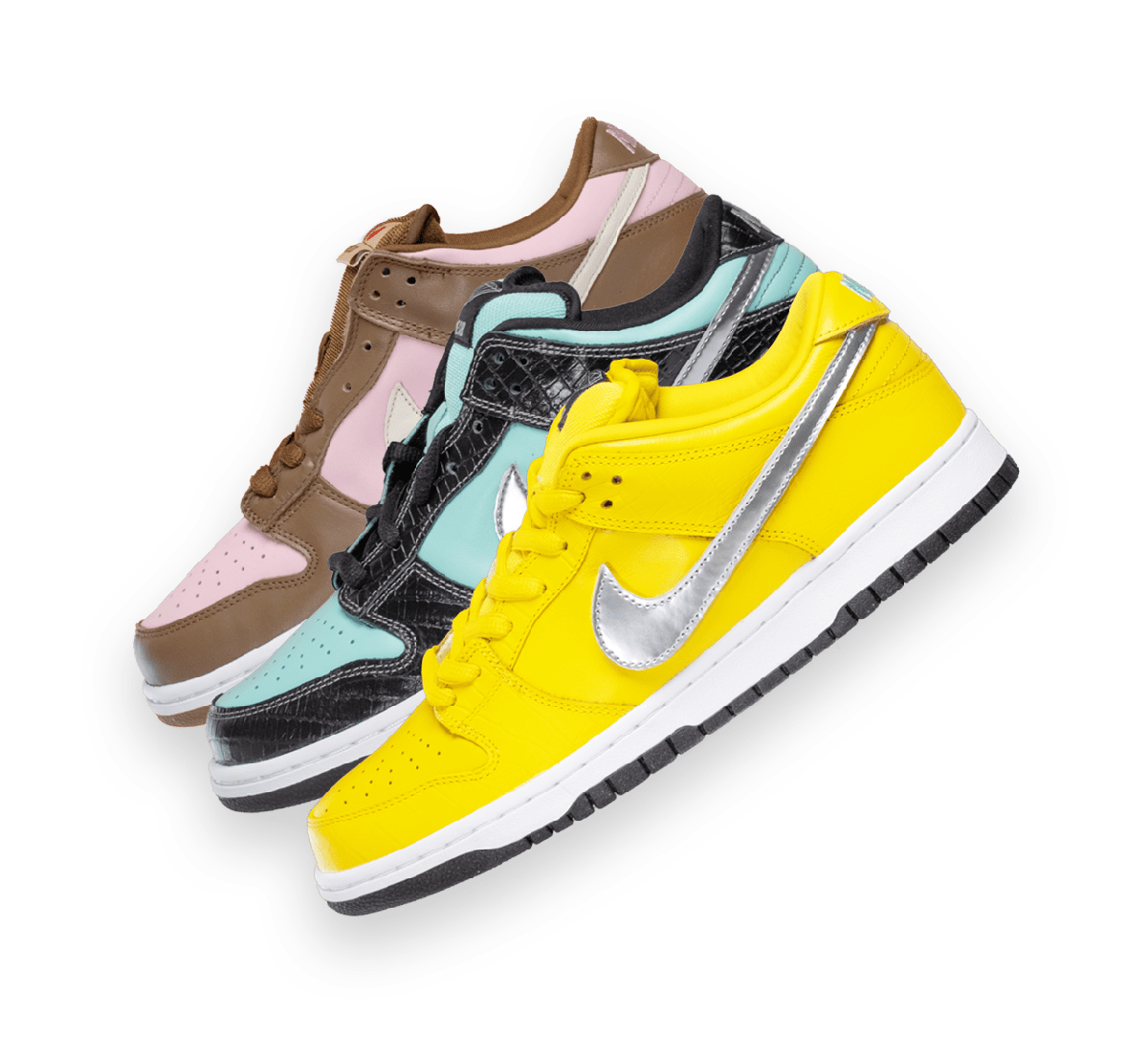 Iconic Nike SB Dunk Low Collection Image