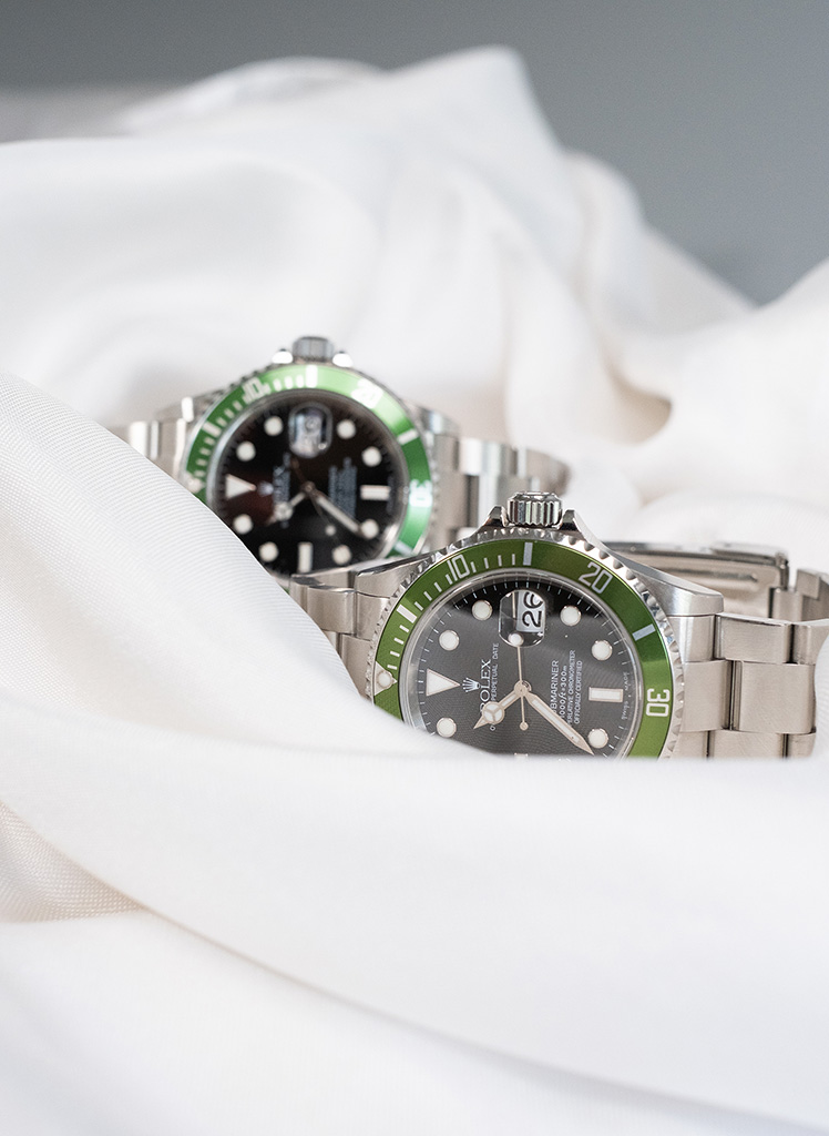 Rolex Kermit Collection