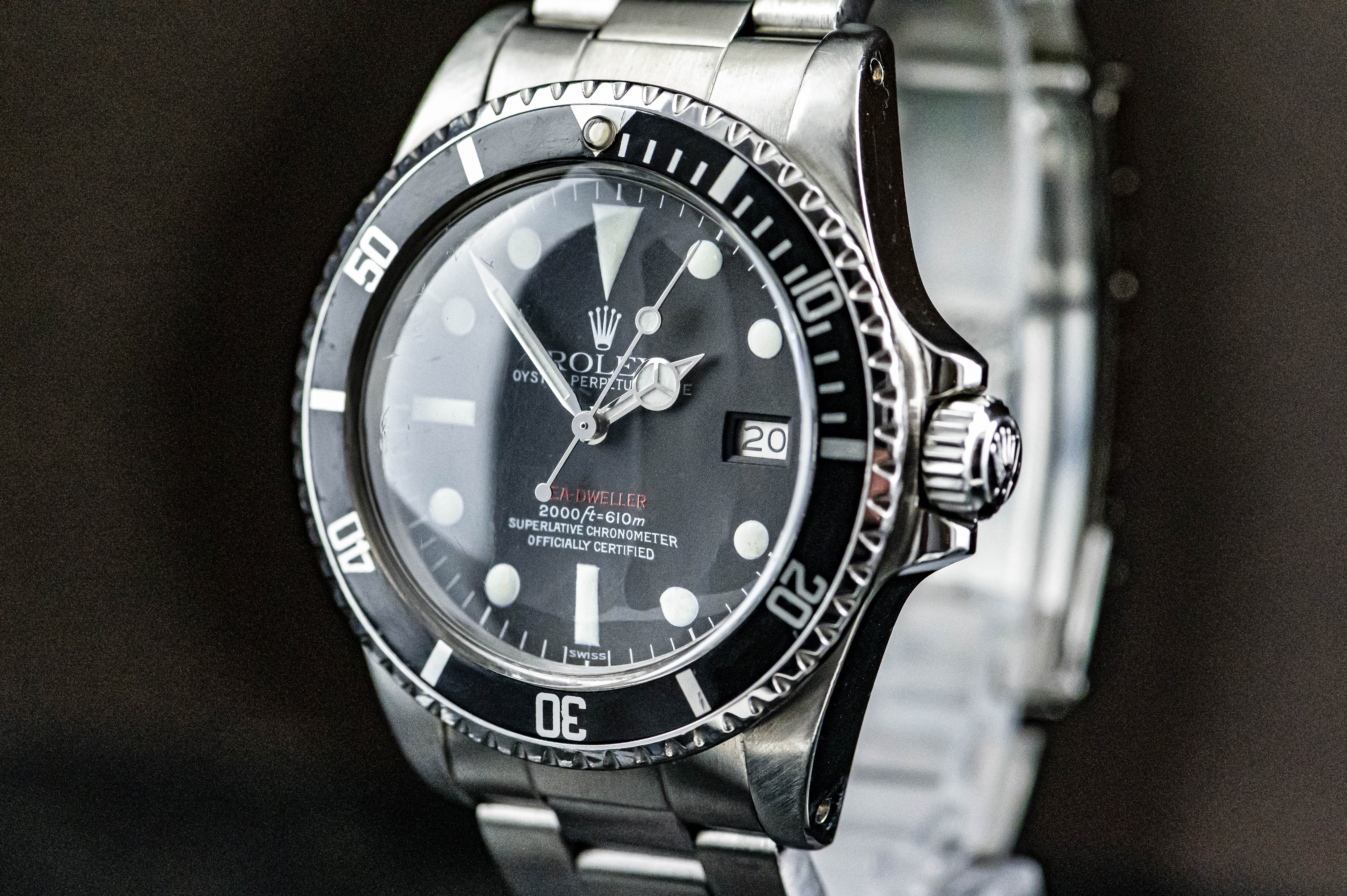 Rolex Sea Dweller Double Red/Single Red