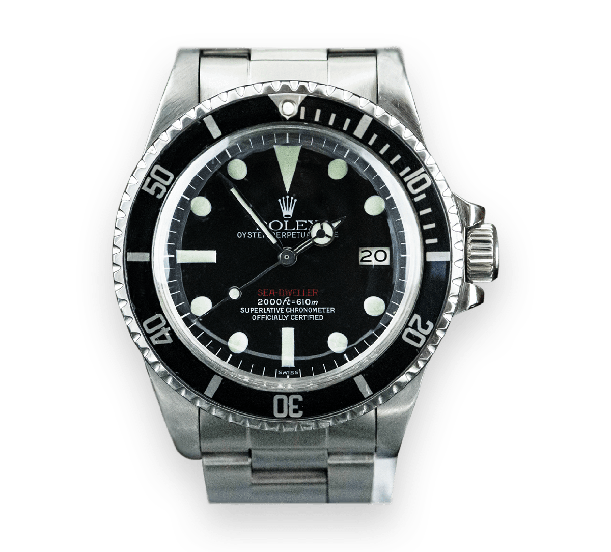 Rolex Sea Dweller Double Red/Single Red Image