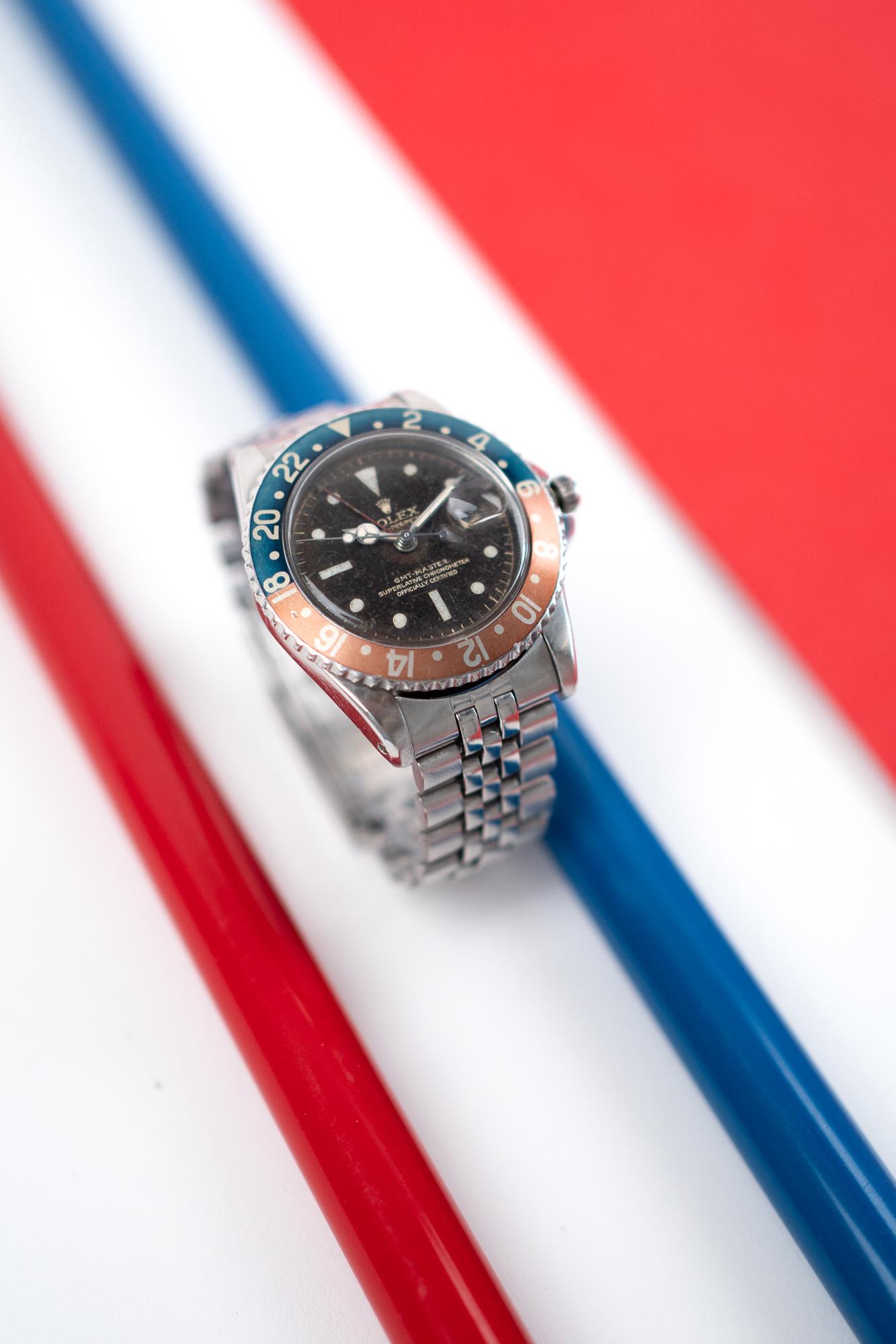 Rolex GMT Master 1675 Pepsi - Vintage