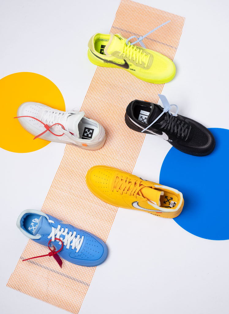 Nike Air Force 1 Off-White Collection
