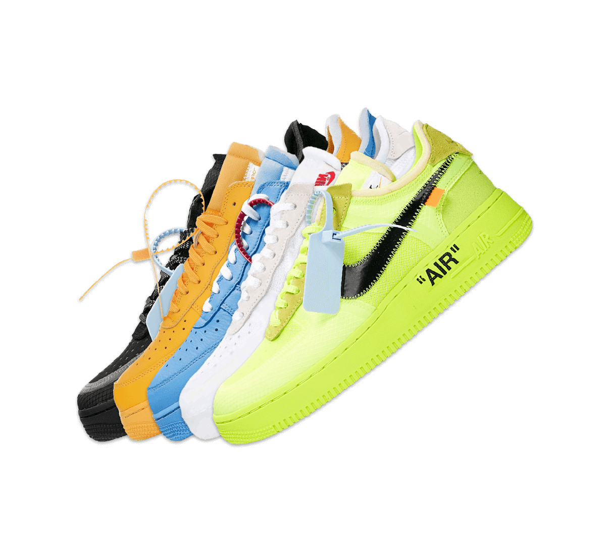 Nike Air Force 1 Off-White Collection Image