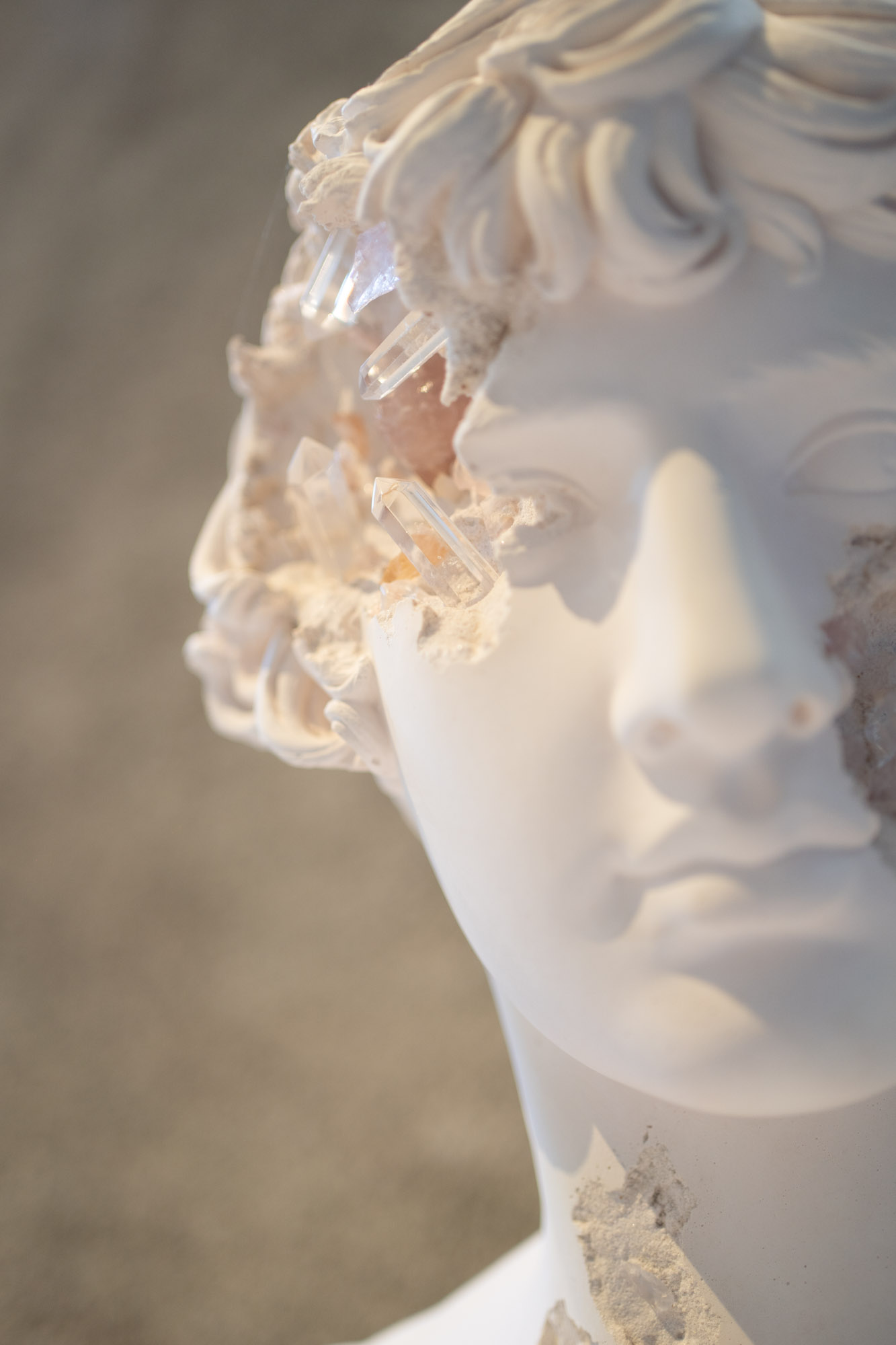 Daniel Arsham | Bust of Antinous | 2021