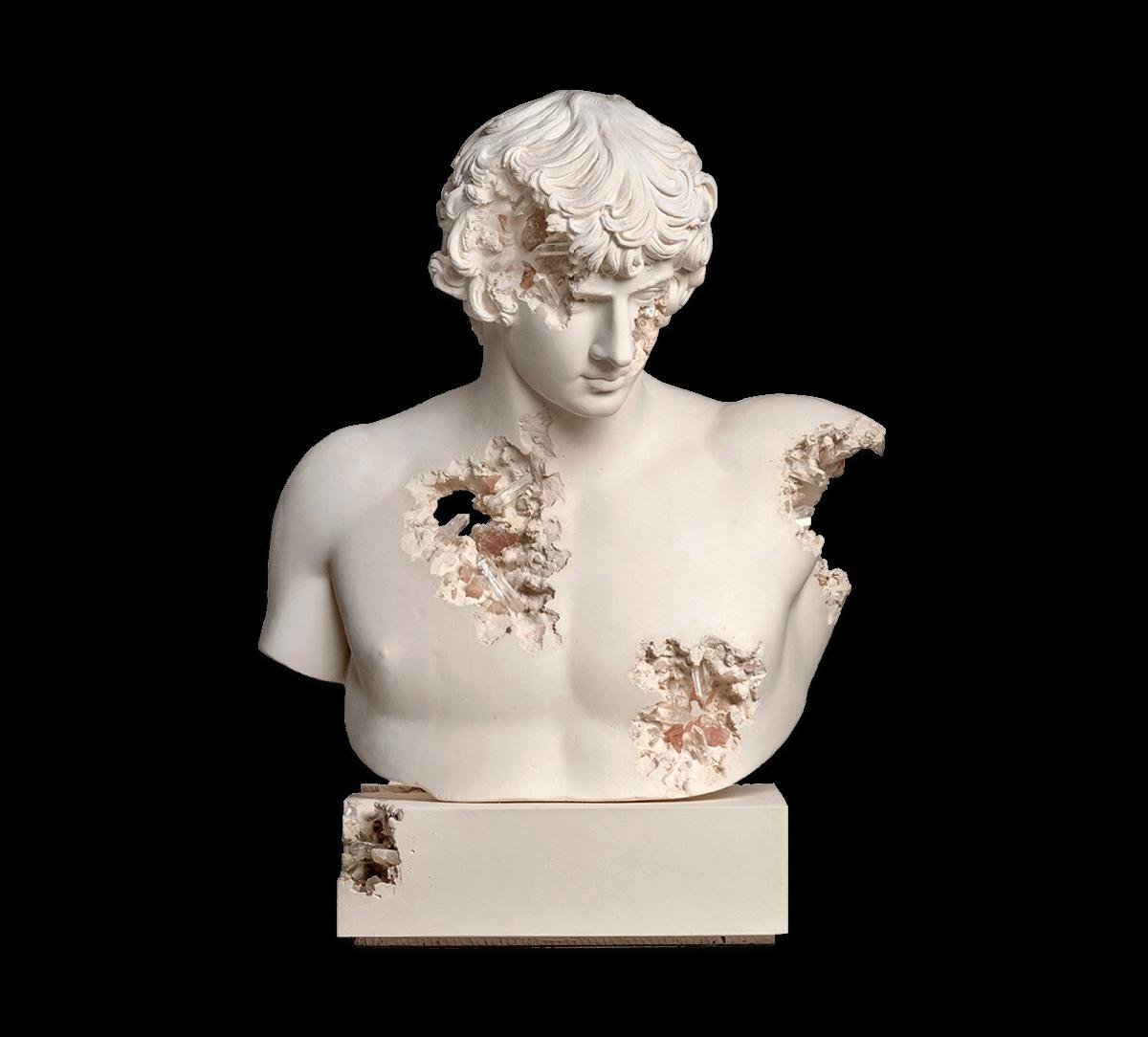 Daniel Arsham | Bust of Antinous | 2021 Image