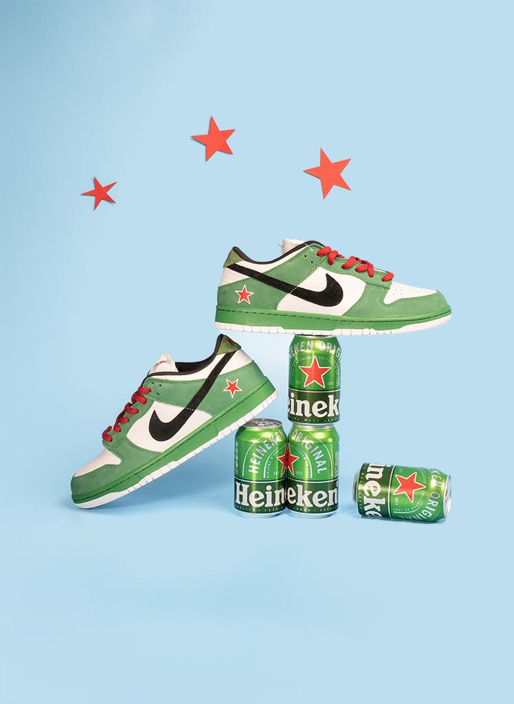 Cool Summer Drop Heineken & Ben & Jerry's