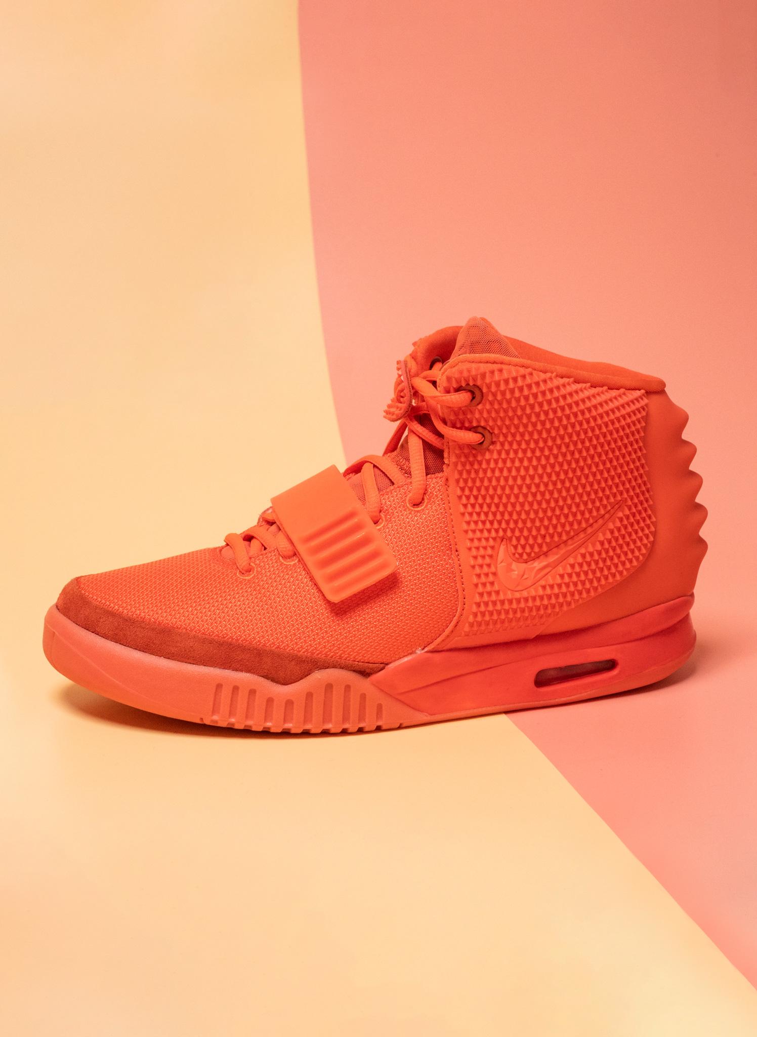 Nike Air Yeezy 2 Red October Mood 3