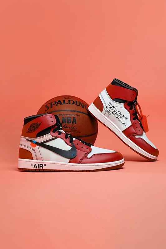 Nike Air Jordan 1 Off-White 'Chicago'