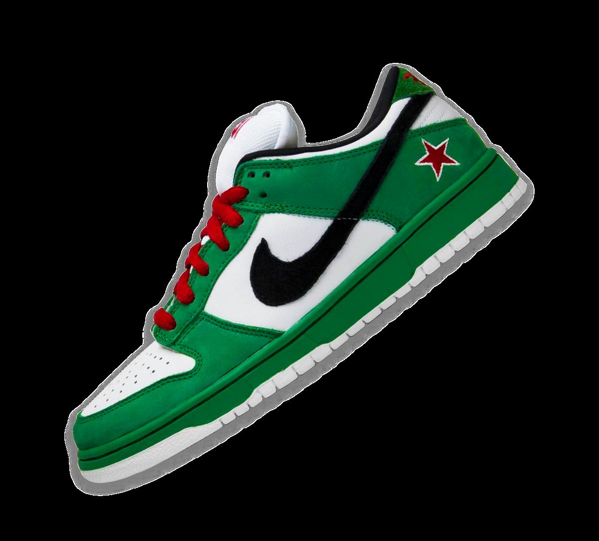 Nike SB Dunk Low Pro 'Heineken' Image