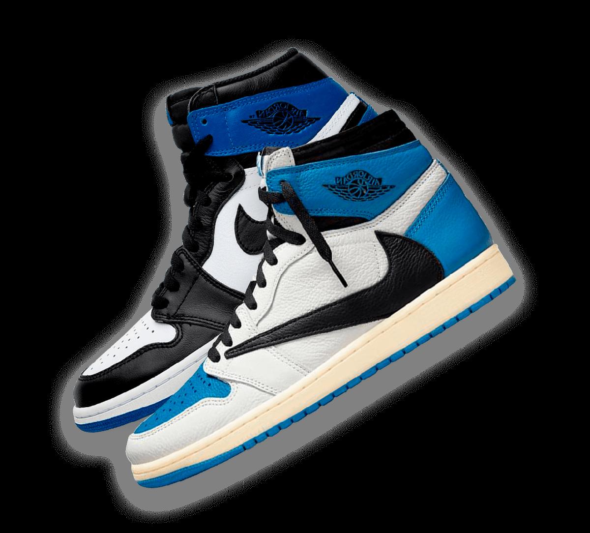 Nike Air Jordan 1 Fragment & Travis Scott Image