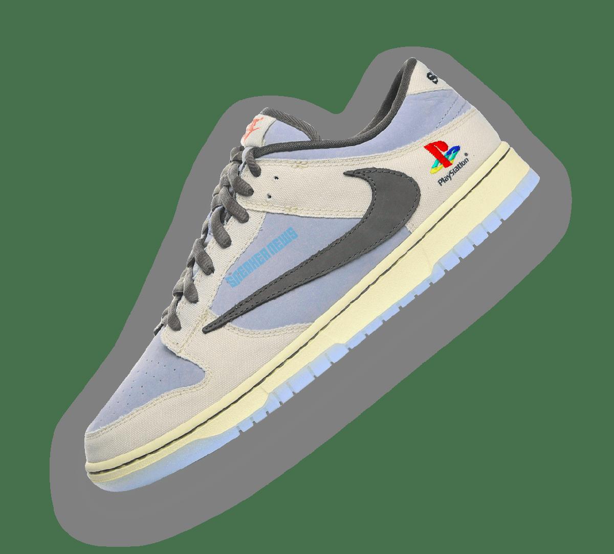 Nike Dunk Low Travis Scott x Playstation Image