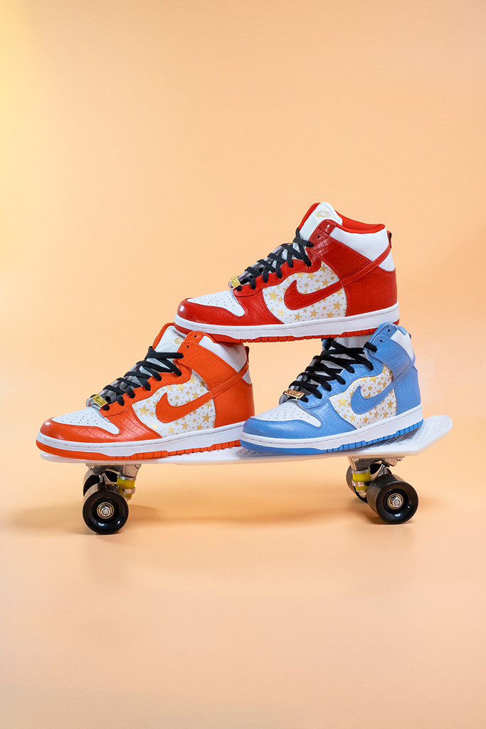 Nike SB Dunk High Pro Supreme Collection Overview Skateboard