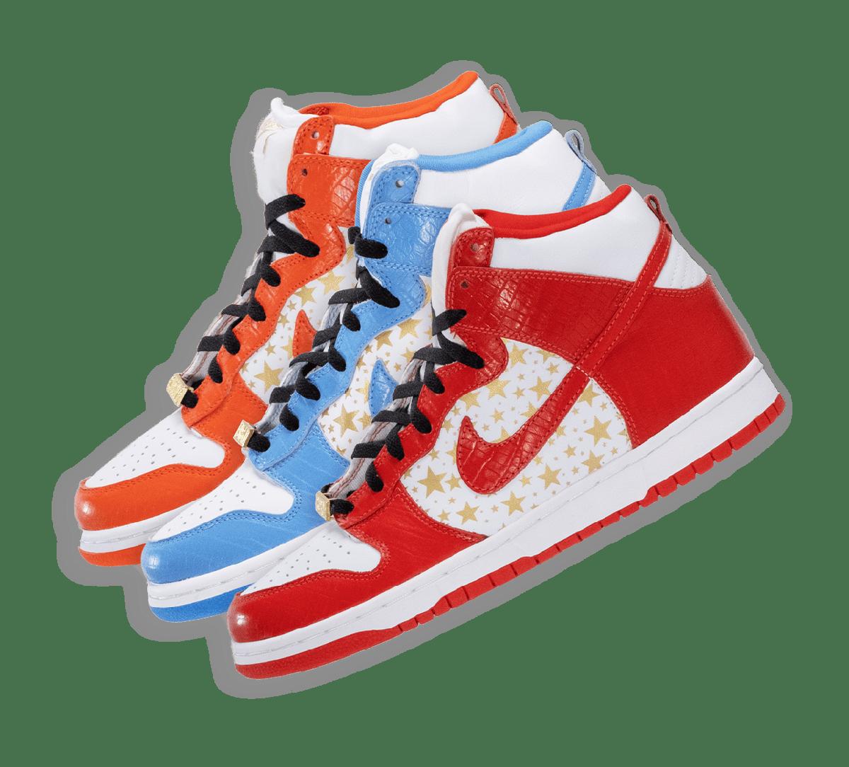 Nike SB Dunk High Pro Supreme Collection Image