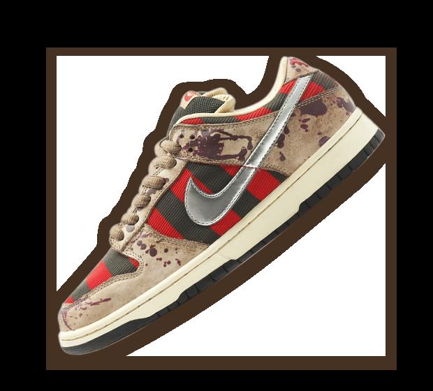 Nike SB Dunk Low 'Freddy Krueger' Image